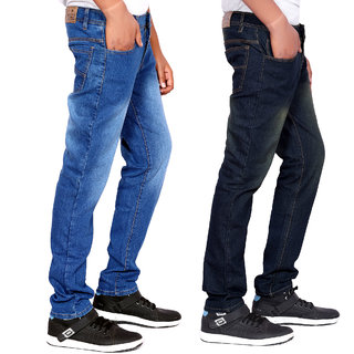 Balino London Multicolor Denim Jeans For Men (Set of 2)