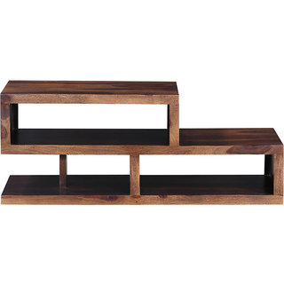 Hole With Base Coffee Table Cum TV unit