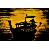 Art Printed Posters - Digital Art Of Boats