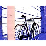 Art Printed Posters - Digital Art Of Cycle