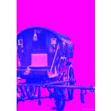 Art Printed Posters - Digital Art Of Rickshaw