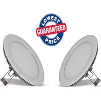 Soy Impulse (Set Of 2) 6w LED Round Panel Light