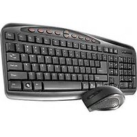 Amkette Nexus 6D Wireless Desktop Keyboard And Optical Mouse