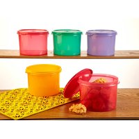 Tupperware Store All Medium Canister- 1.3 Litre - Set Of 5