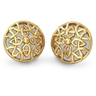 The Indunn Earrings_Earring In 18KT Yellow Gold