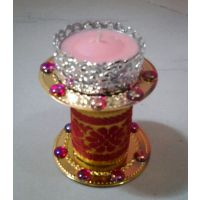 T Light Diya Candle With Stand 2 - Unique Arts