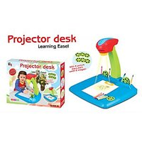 Projector Painting Learning Desk Easel Game Toy Set For Kids