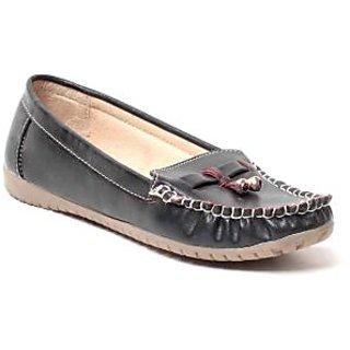 MSC Women Black Synthetic Loafer