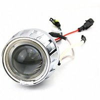 Demon Eye Projector Headlight With Angel Eye Amp Bi Xenon