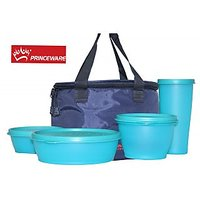 Princeware Set Of 5 Pcs Of Lunch Box
