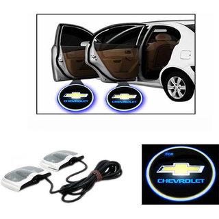 Ak Kart LED Shadow Logo Car Fany Light For Chevrolet 003