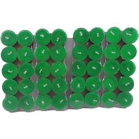 Pack Of 40 Scented Green Tealight T-lite Candles For Diwali Birthday Party Gift
