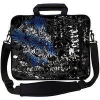 Designer Sleeves 13ES-RV 13 Inch Laptop Sleeve (Black, Brown)