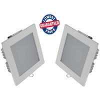 Soy Impulse (Set Of 2) 12w LED Square  Panel Light