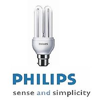 Set Of 2 Philips 18W CFL
