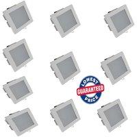 Soy Impulse (Set Of 10) 12w LED Square Shaped Panel Light