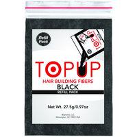Toppik Topup hair Building Fiber Refill Bag (Black 27.5gm) Hair Loss Solutions Hair Damage Treatment