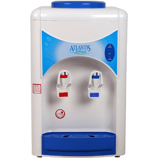 Atlantis Blue Hot and Cold Table Top Water Dispenser with 3.5L Cold Storage Capacity