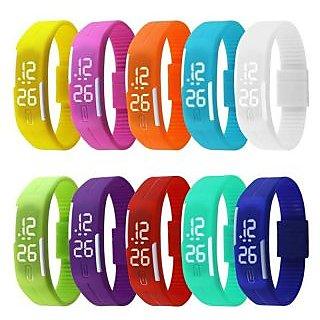 Buy 1 Get 1 Free - Slim LED Waterproof Digital Jelly Watch