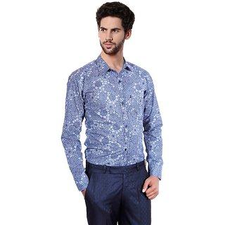 Balino London Printed Slim Fit Casual Shirt for Men