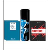 VI-JOHN EMOTIONS  & BLUE WATER + COBRA DEO COOL