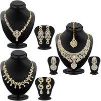 Sukkhi Gold Plated Designer Combo Of Necklace Set For Women