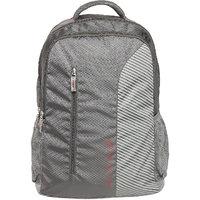 Safari Emerge Gray Polyester Causal Backpacks