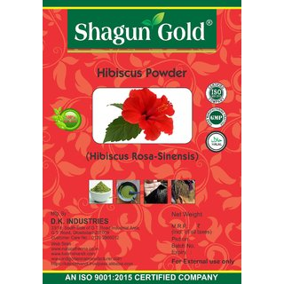 Shagun Gold ( Hibiscus Rosa Sinensis ) Hibiscus Powder 100g