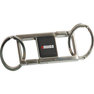 eGizmos Omuda Double Hook & Double Ring Locking Key Chain