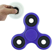 Anti Stress Fidget Spinner Toy- Helps Relieve Stress (Colour May Vary)