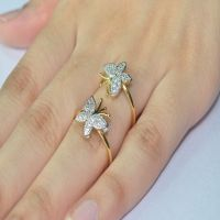Enzy Gold Plated  Silver,Gold Rings For-Women