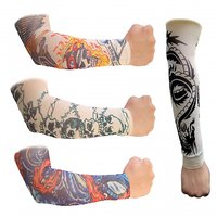 Funky Tatoo Sleeves - 2 Pcs-(Pair)