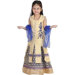 Crazeis Lehenga Choli Dupatta Set For Girls