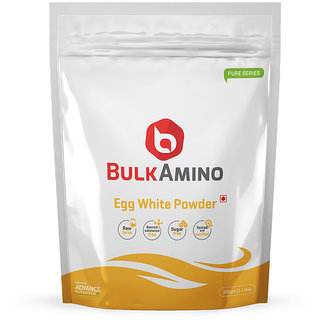 Advance Nutratech BulkAmino Egg White Powder 500gram (1.1lbs) Unflavoured