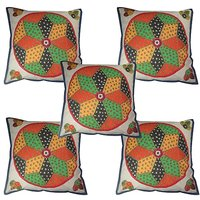 Cushion Cover Pillow Cover ( Set Of 5 Piece ) - 4776040