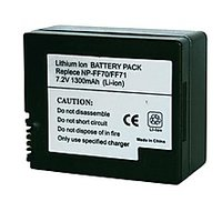 7.2V 1500mAh Replacement Li-ion Battery For Sony NP-FF70 NP-FF71