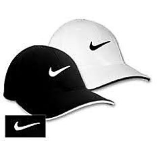 Techamazon Black & White Cotton Party Regular Caps