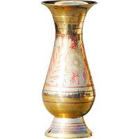Flower pot with handwork Brass Vase - 5 inch