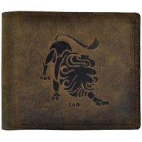 Hawai Zodiac Leo Wallet for Men