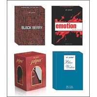 VIJOHN EMOTIONS  & BLUE WATER  & BLACK BERRY & NEW JAIPUR WITH TASTER