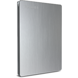 Toshiba  500GB Canvio Slim USB3.0 Hard Disk (Silver)