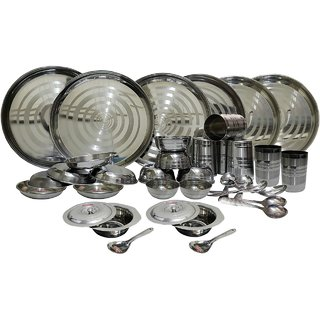 36 pcs Stainless Steel Dinner Set