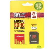 Strontium 8GB 30MB/S (Class10) 200X Nitro Micro SD Card UHS-1