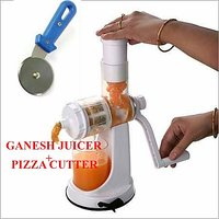Buy Ganesh Fruit & Vegetable Juicer + Get Pizza Cutter FREE FREE