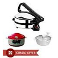 Dough Maker,casserole With Electric Roti Maker