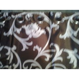 Premium Silk Brown Curtain Set Of Two Size 7x4 Feet