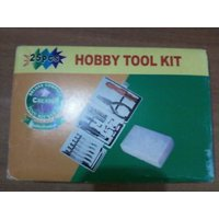 25 PCs Hobby Tool Kit For Home Office Garage Factory Multipurpose With Case