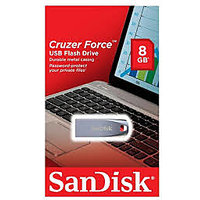 Sandisk Cruzer Force 8GB PenDrive USB Flash Drive with Metal Casing