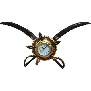 Wooden Big Sword Armour Clock
