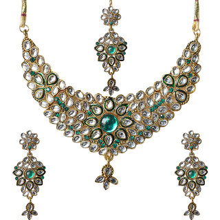 Designer Ethnic Necklace Set By Sparkling Jewellery